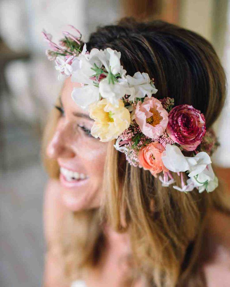 Martha Stewart Wedding Hair Flowers
