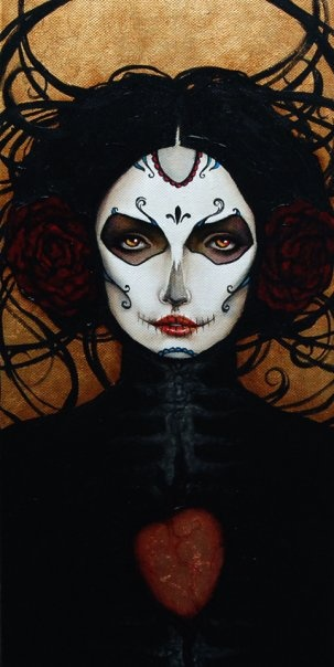 Sugar Skull Makeup Face Templates