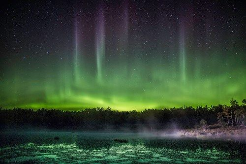 Northern Lights Ontario Tonight