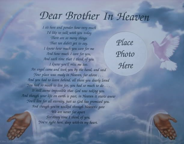 I Lost My Brother Poems