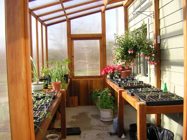 Back Porch Greenhouse