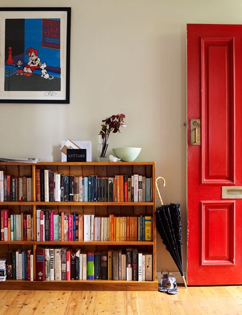 Long Low Bookcase Doors