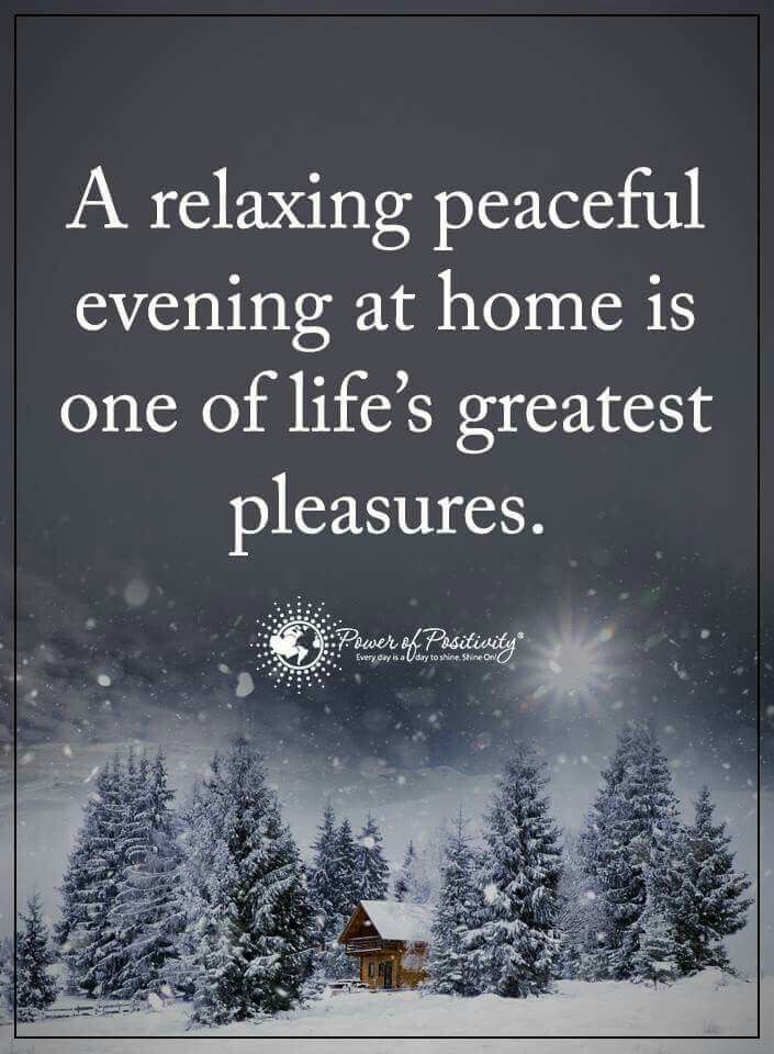 Peaceful Evening Quotes