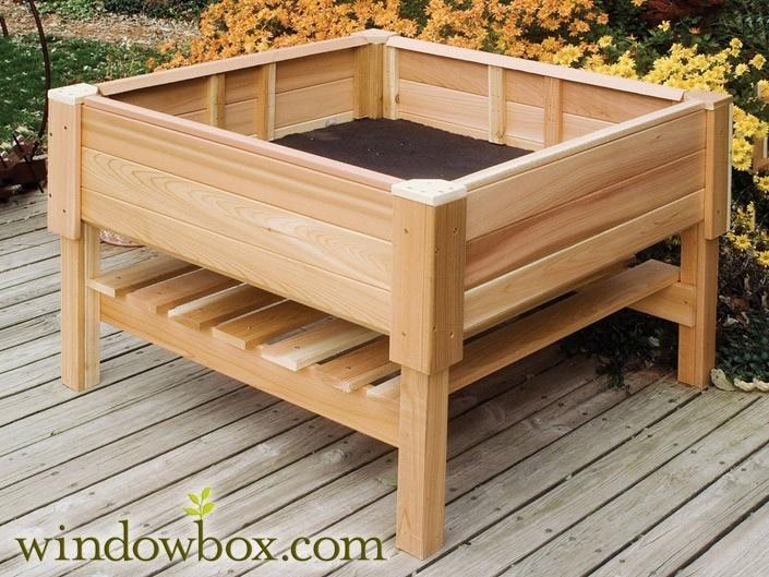 What Kind Wood Raised Vegetable Garden