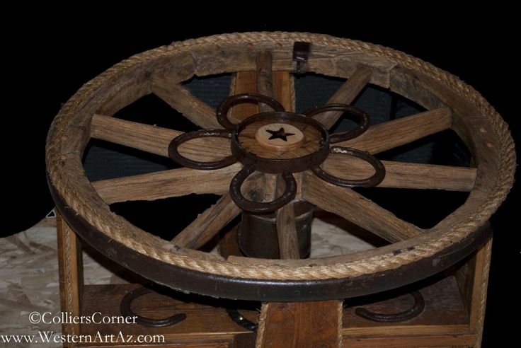 Wagon Wheel Coffee Table When Harry Met Sally