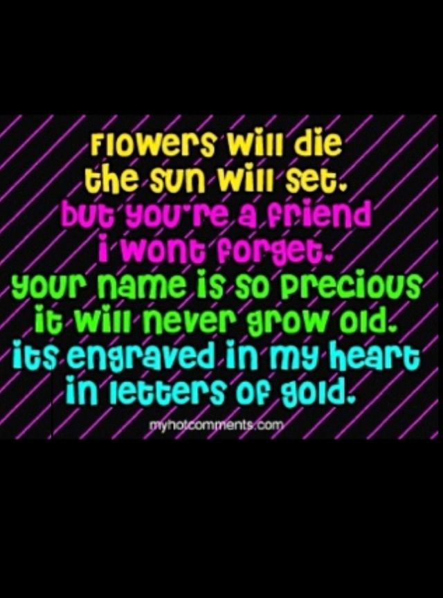 Friendship Quotes Best Friends Forever
