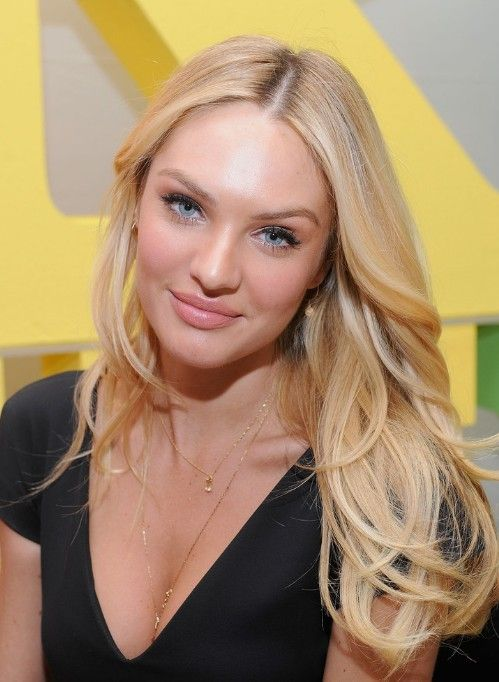 This remarkable Candice swanepoel platinum blonde hair question not