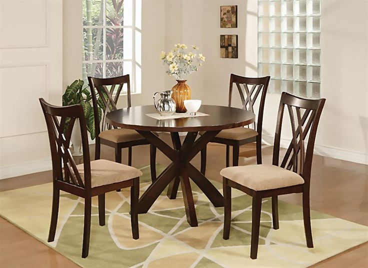 Set Small Dinette 2 Chairs