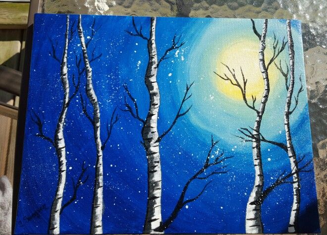 Paint And Sip Paintings