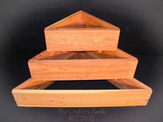 Herb Planters Wooden Raised