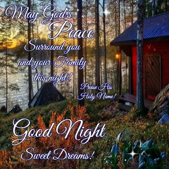 Blessings Good Quotes Animated Night