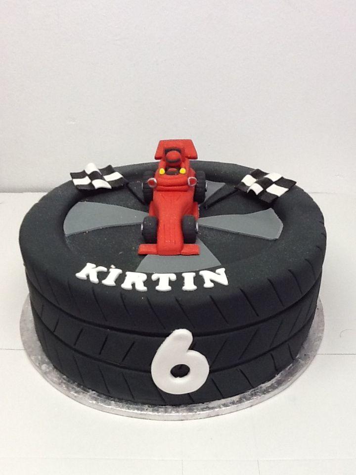 A Formula 1 Cake For Kirtin S 6th Birthday Belle S