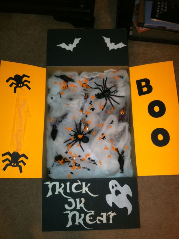 Military Care Packages Halloween