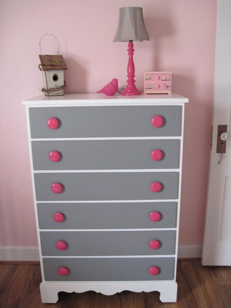 Pink Furniture Makeovers