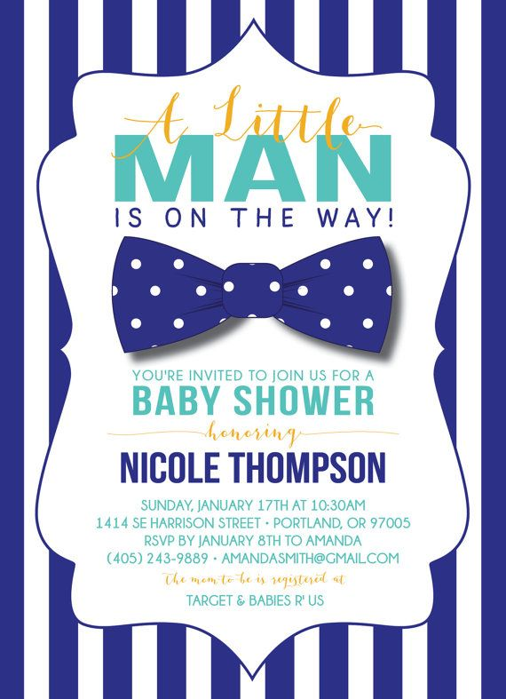 Pretty Baby Shower Invitations