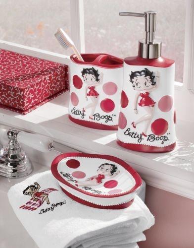 Betty Boop Bathroom Accessories