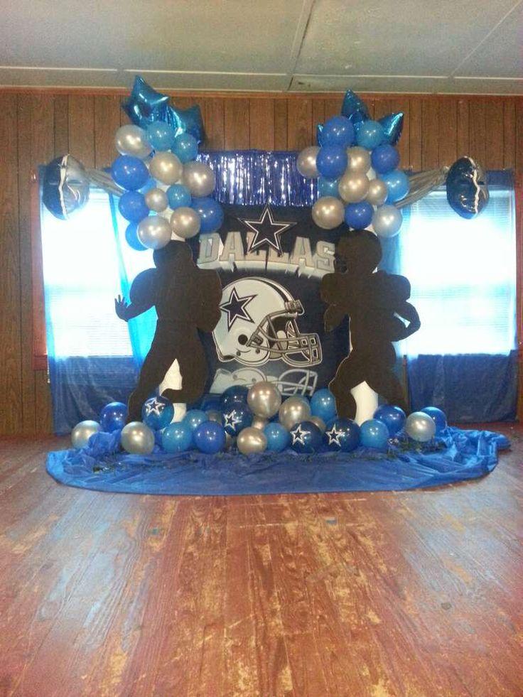 Dallas Cowboys Football Birthday Party Ideas Football
