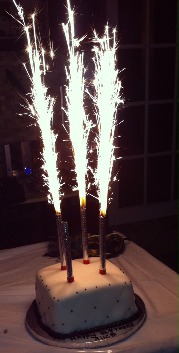 Tulip Candle Birthday Sparklers