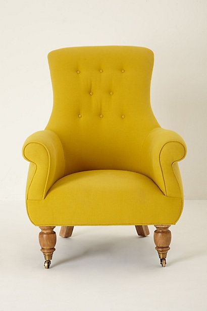 Mustard Color Accent Chair
