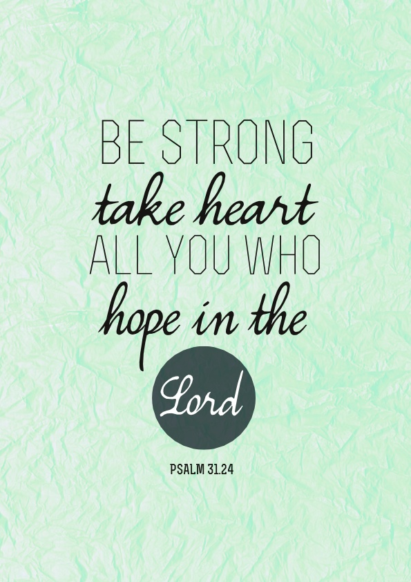 Strong Person Picture Bible
