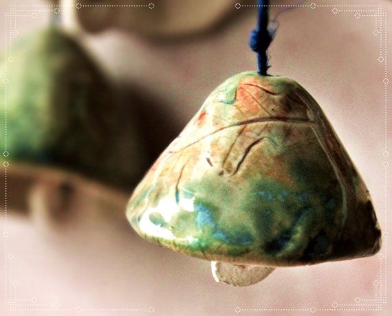 Hand Bells Hand Painted Bell Painted Fish
