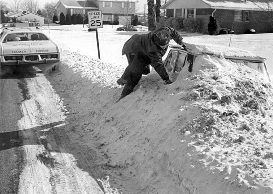Blizzard 1977 Ohio Columbus