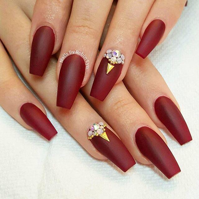 Christmas Stencils Fingernail