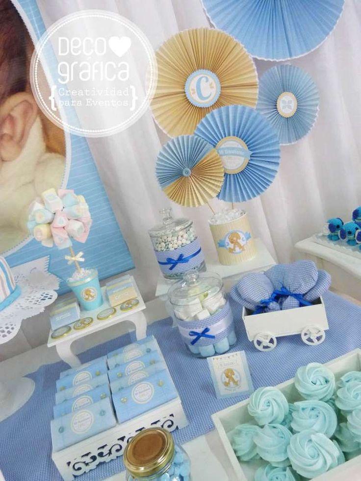 Adornos De Mesa Para Baby Shower De Nino