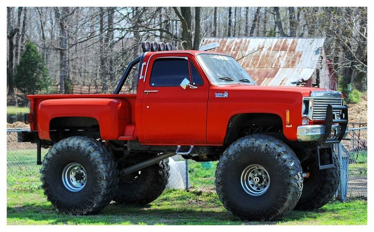 Stepside 197 2 Lifted Chevy