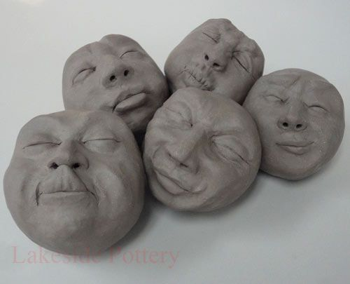 Traceable Face Drawings Clay