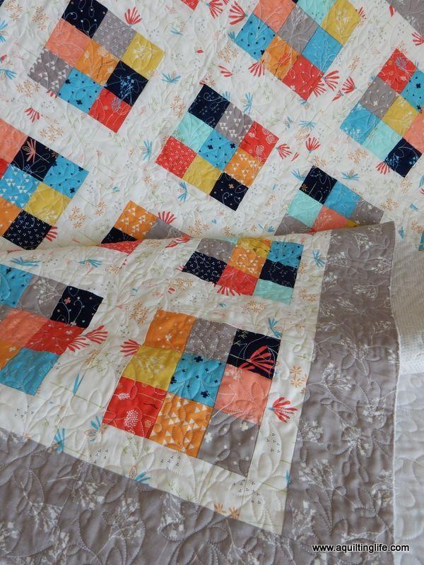 Nine Patch Quilt Pattern