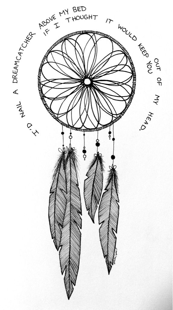Hipster Tumblr Drawings Dream Catcher