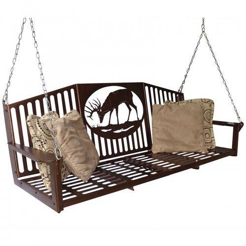 Metal Porch Swing 5 Foot