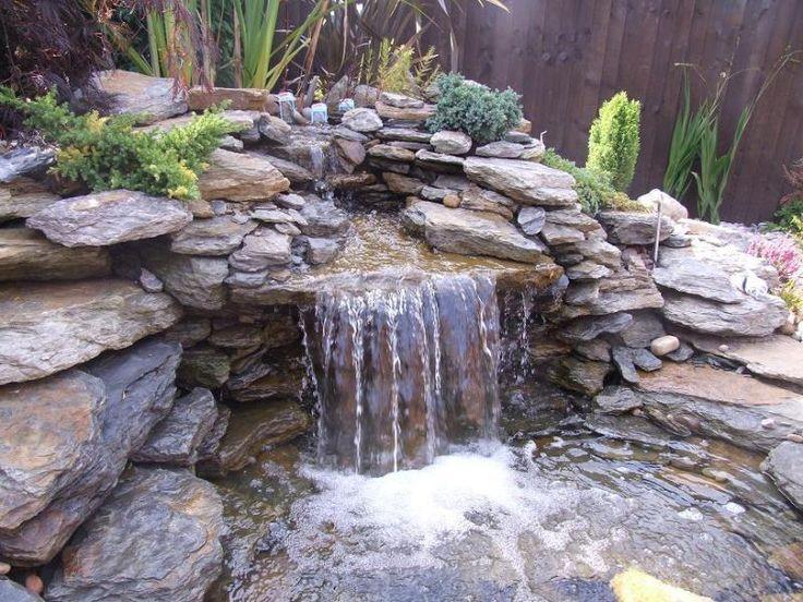 Backyard Ponds Waterfalls