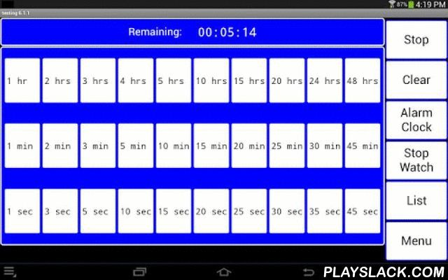 Online Alarm Clock Multiple Alarms