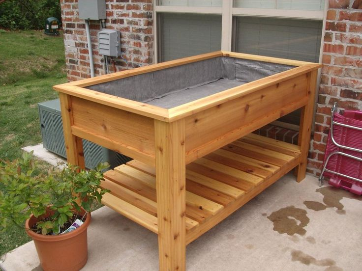 Raised Garden Planter Box Plans