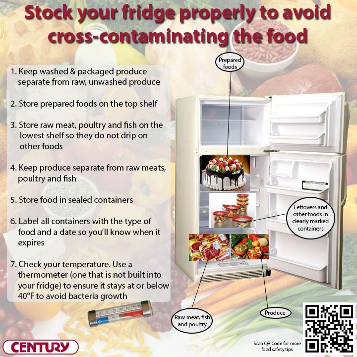 How Store Fresh Food Correctly Avoid Contamination