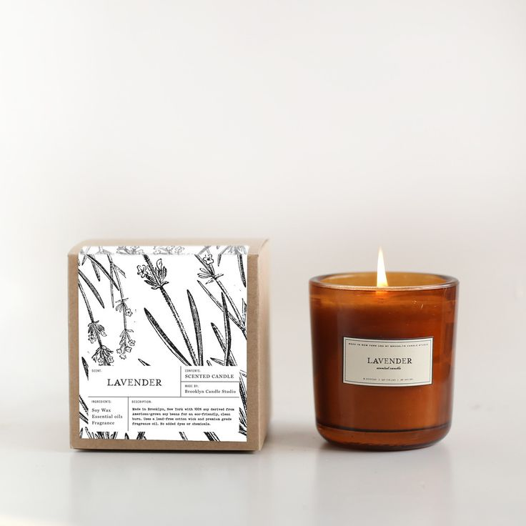 Orange Scented Soy Candles