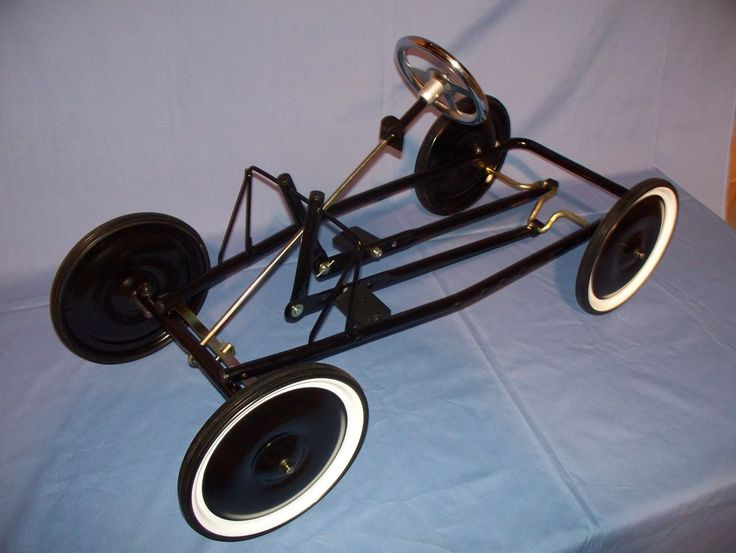 Airplane Pedal Car Built Kit