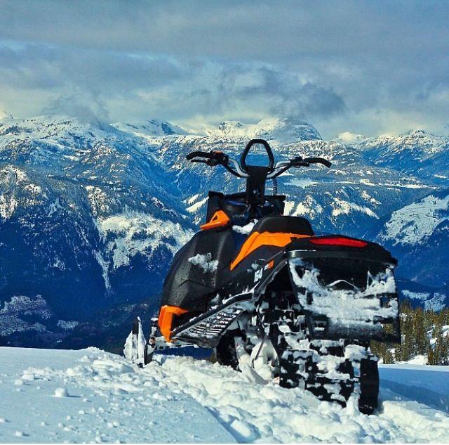 154 800 Summit Doo 2014 Ski Sp Black