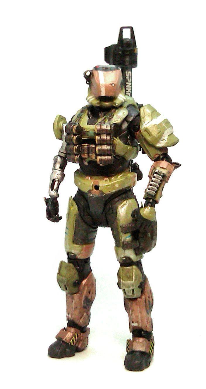Helmet Reach Halo Gungnir