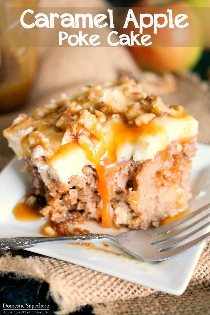 Fall Apple Cake Recipe