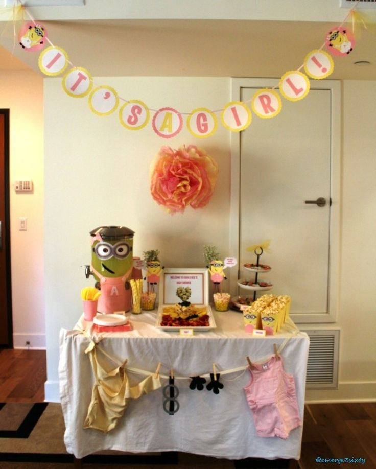 47 Best Images About Minion Baby Shower On Pinterest