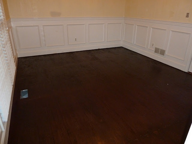 Painting Sub Flooring To Look Like Hardwood Floors