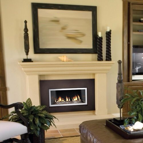 Napoleon Gas Fireplace Insert Gd130g With Amber Glass
