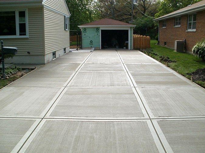 Scored Concrete Patio Patterns