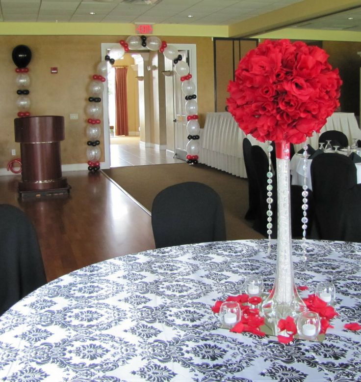 Table Decoration Ideas 80th Birthday Party
