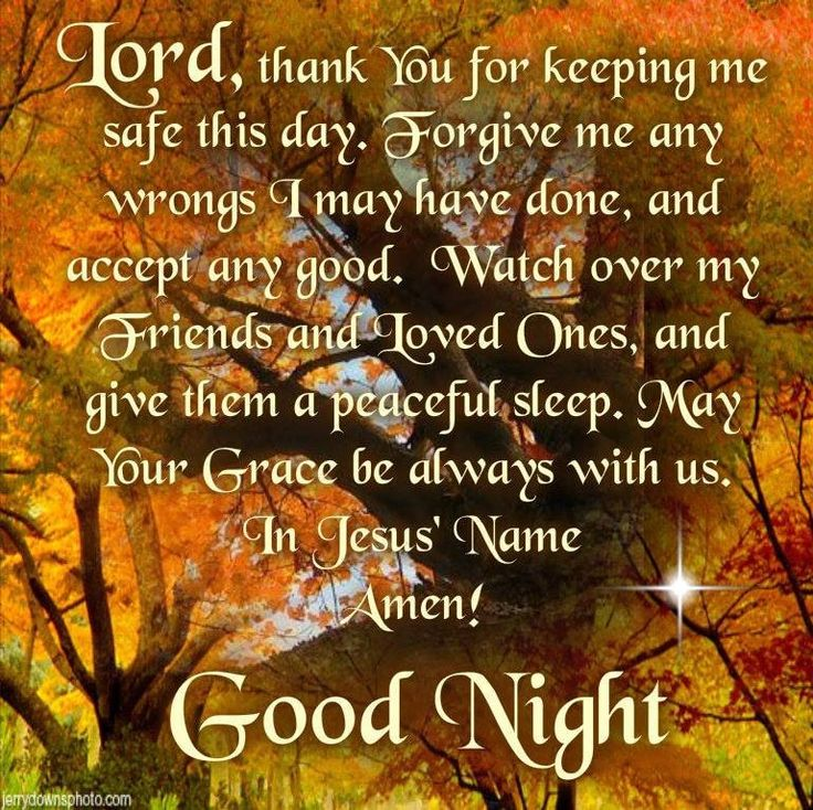 Good And Prayers Night Blessings