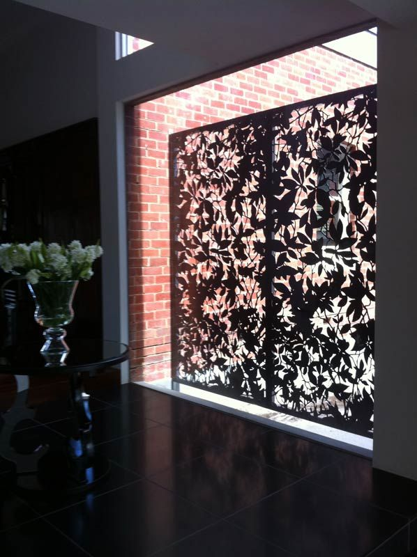 Ornamental Window Screen