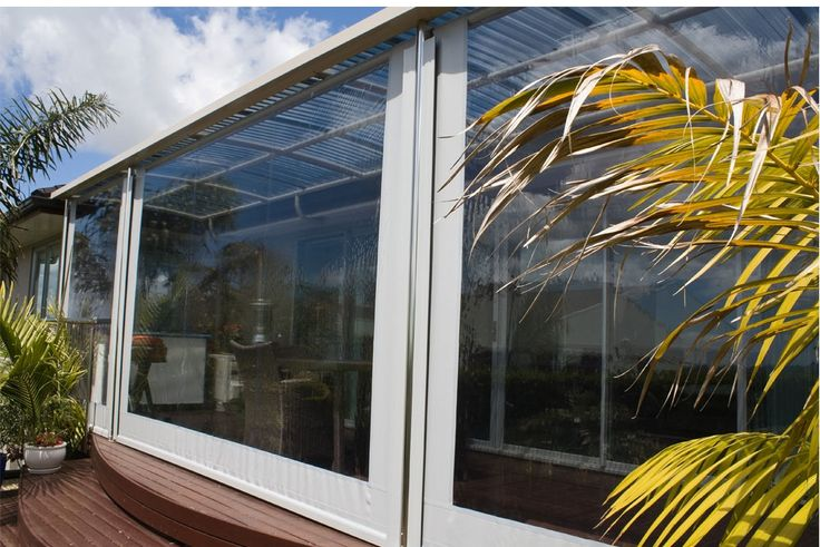 Outdoor Roll Shades Decks